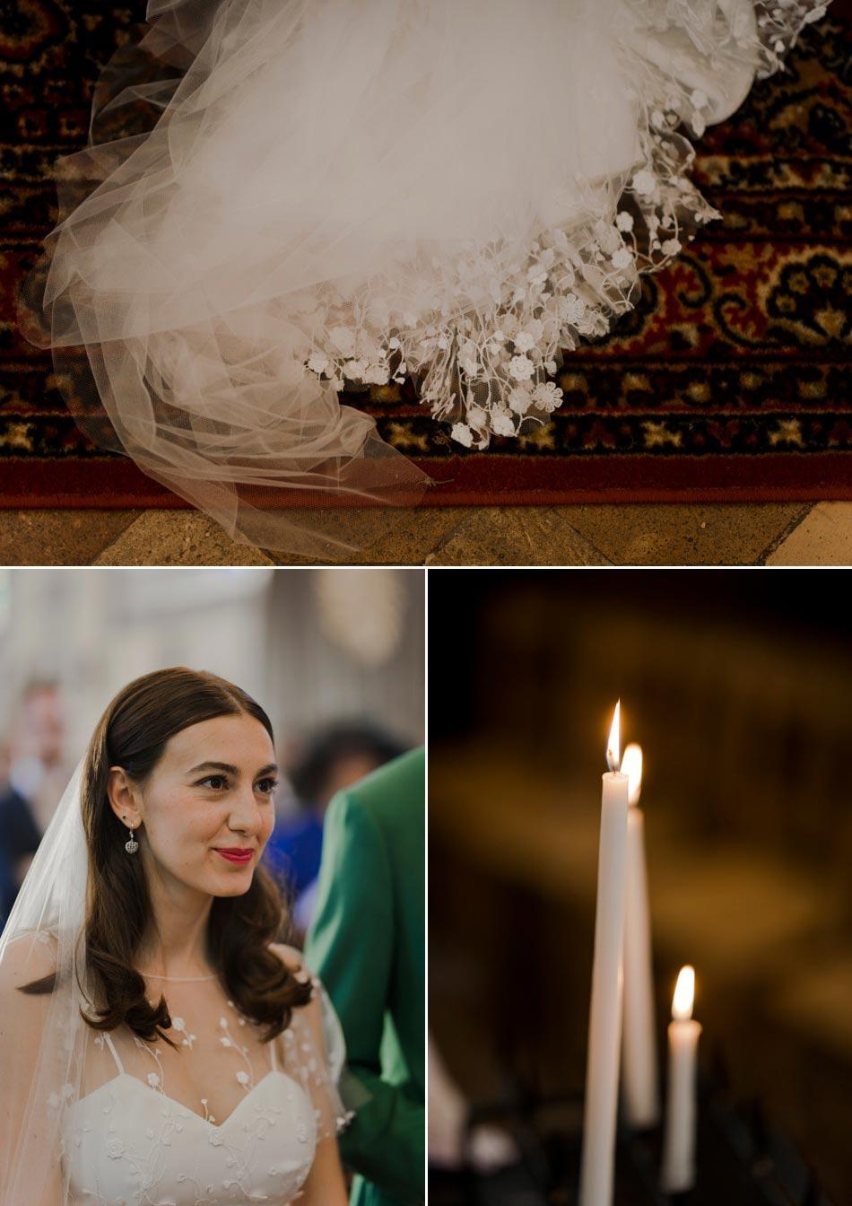 détails dans une eglise mariage solveig et ronan