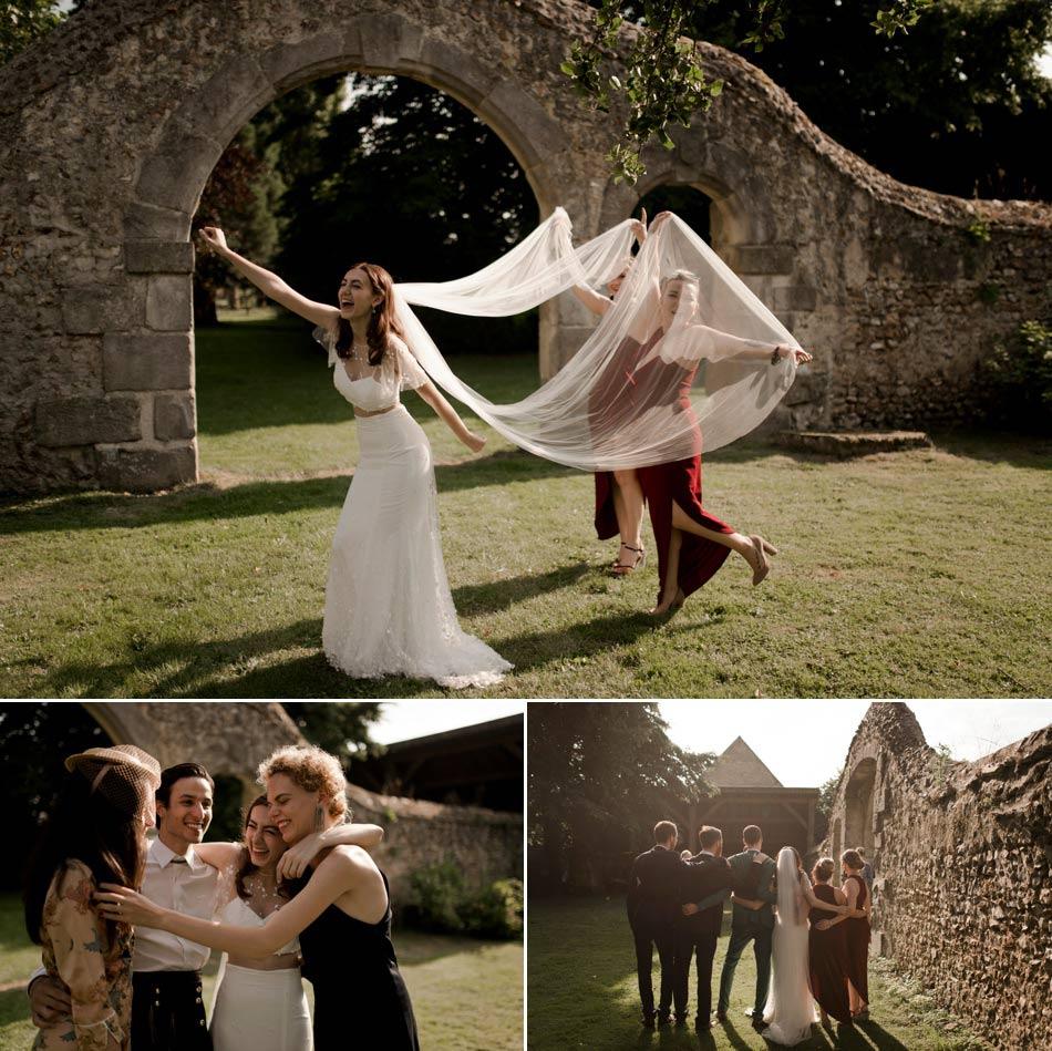 photos des invités cool mariage alternatif