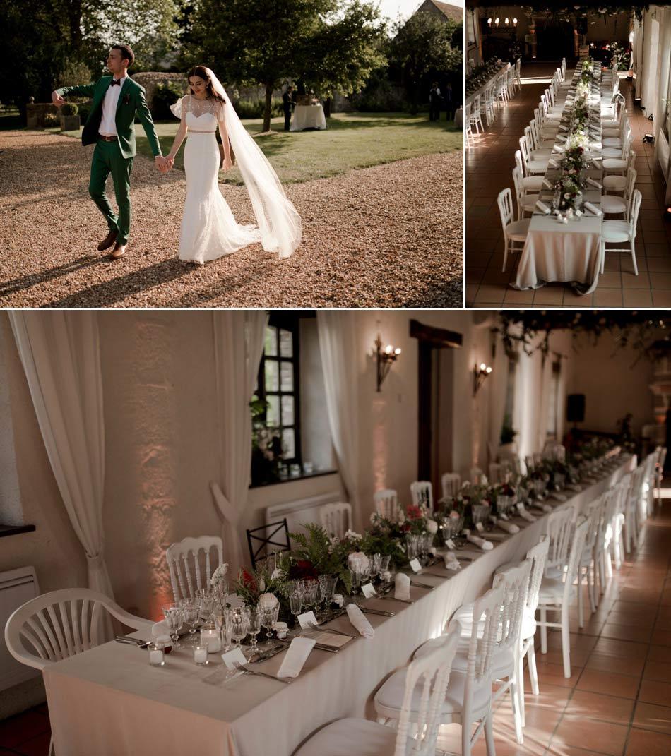 banquet au mariage de Lilit et Vincent