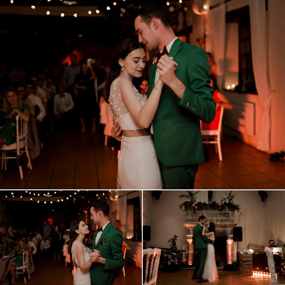 ouverture de bal des mariés lumières guinguette
