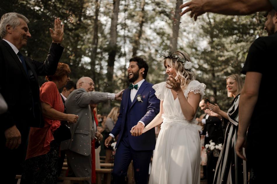 mariage en vert en Bourgogne