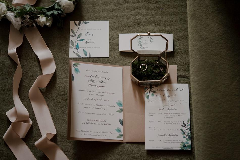 papeterie mariage atelier rosemood