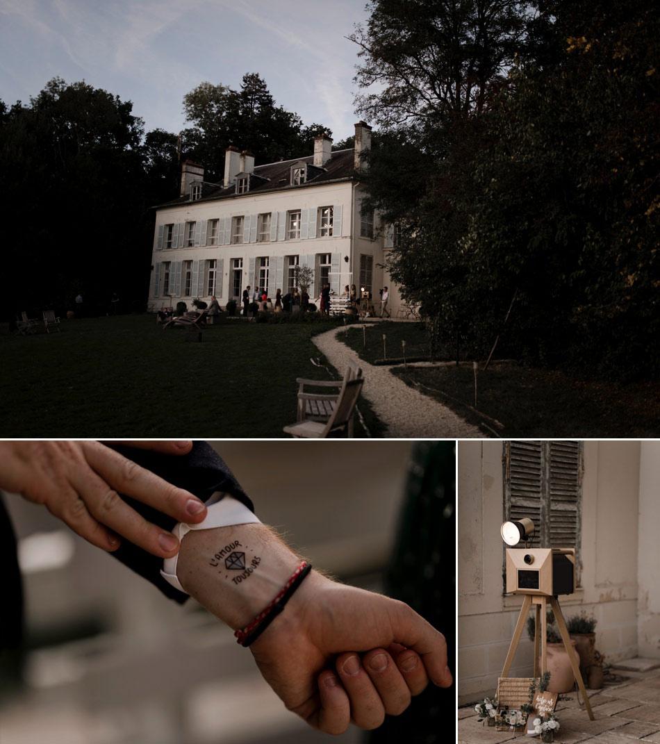 tatoos et photobooth au chateau de sereville