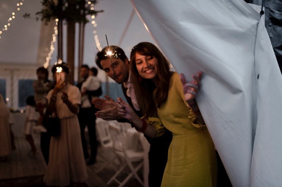 morgane sezalory soirée de mariage