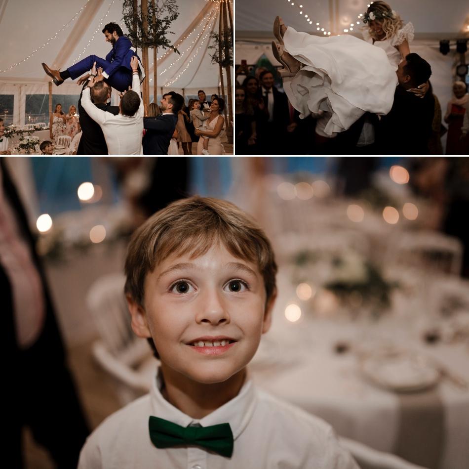 soirée de mariage ambiance et lumières guingette