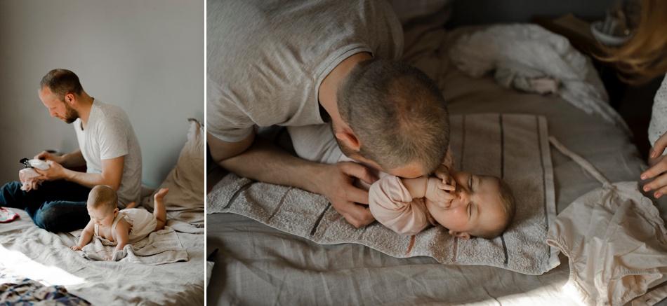 gestes du quotidien avec bébé