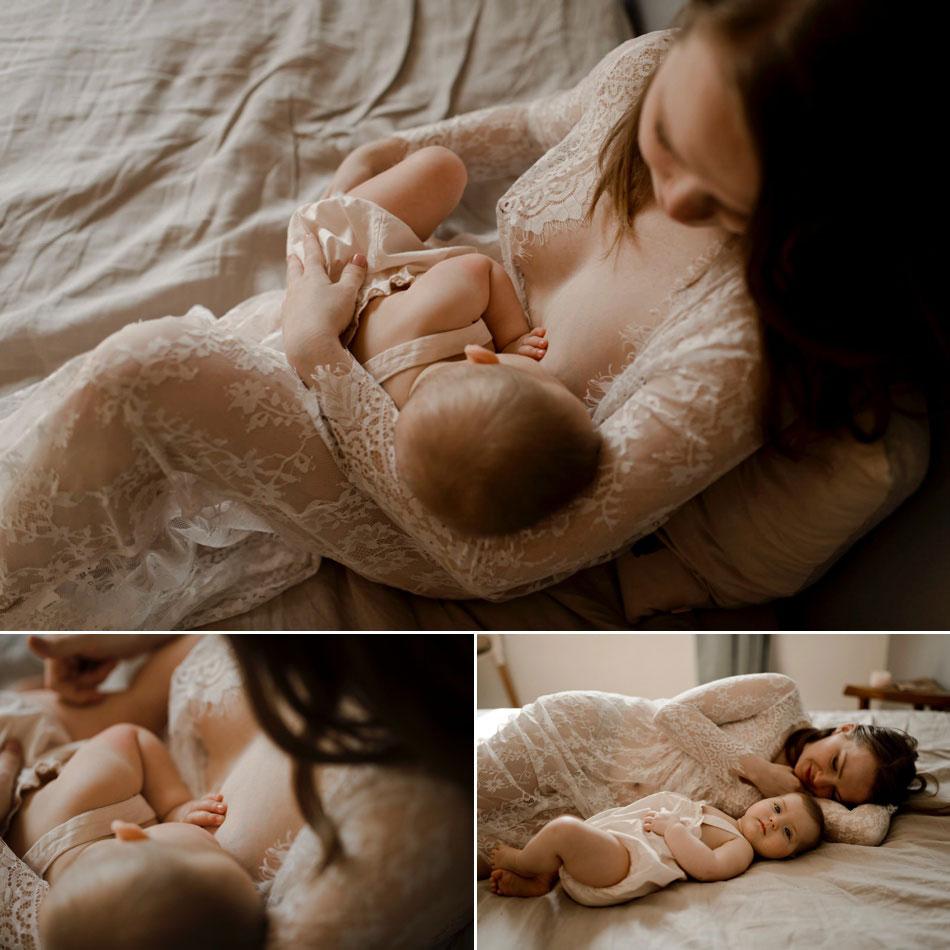 allaitement bébé photo