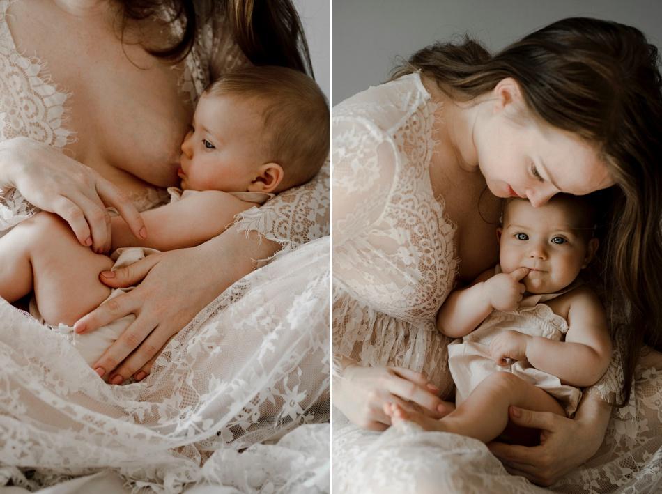 séance photo allaitement intime
