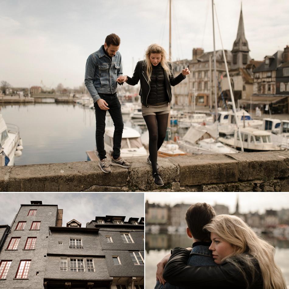 Photoshoot en amoureux en Normandie