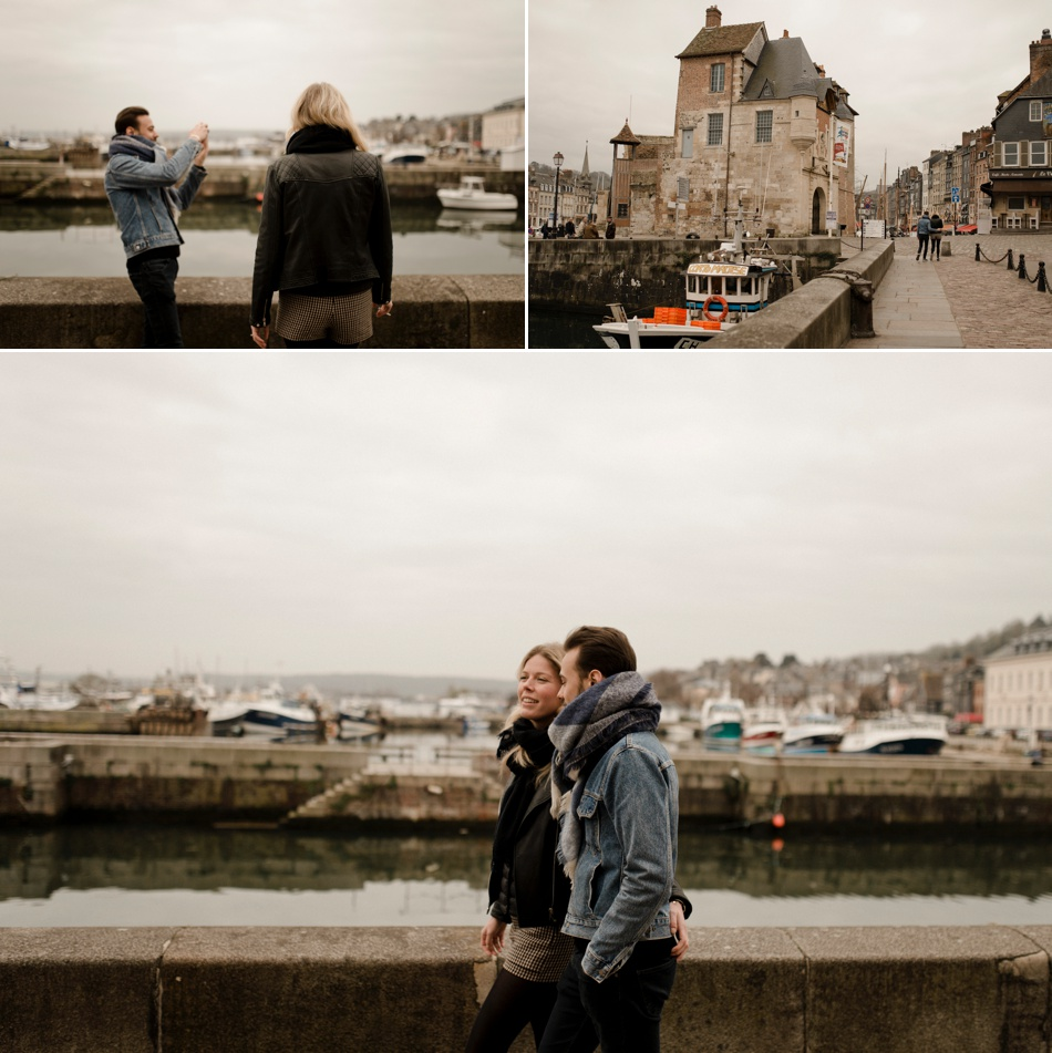 engagement session Honfleur