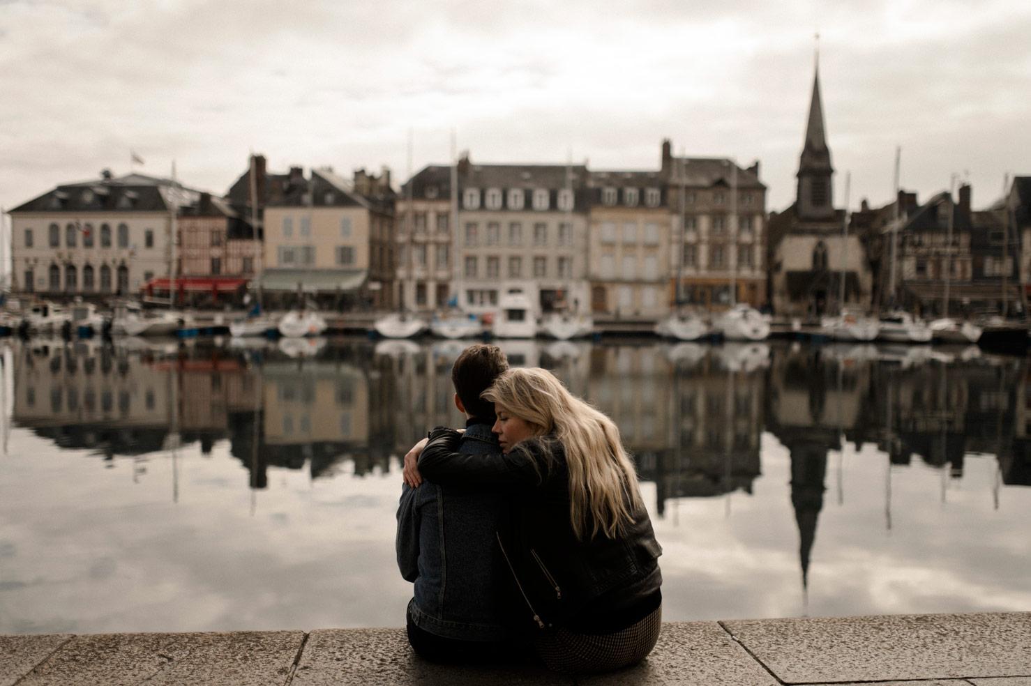 Les amoureux du Port de Honfleur