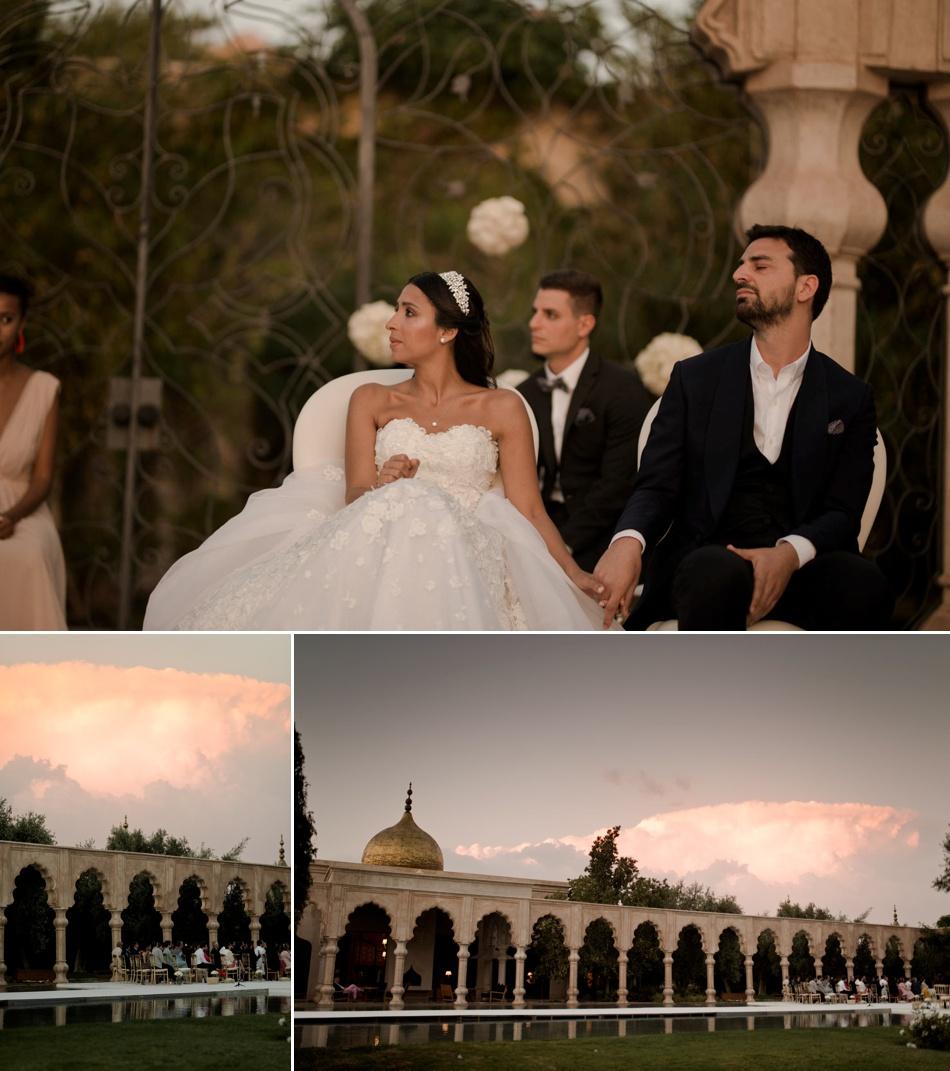 mariage intime au Maroc