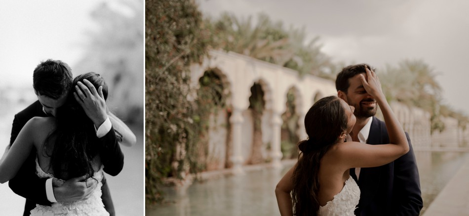 Marrakech intimate wedding