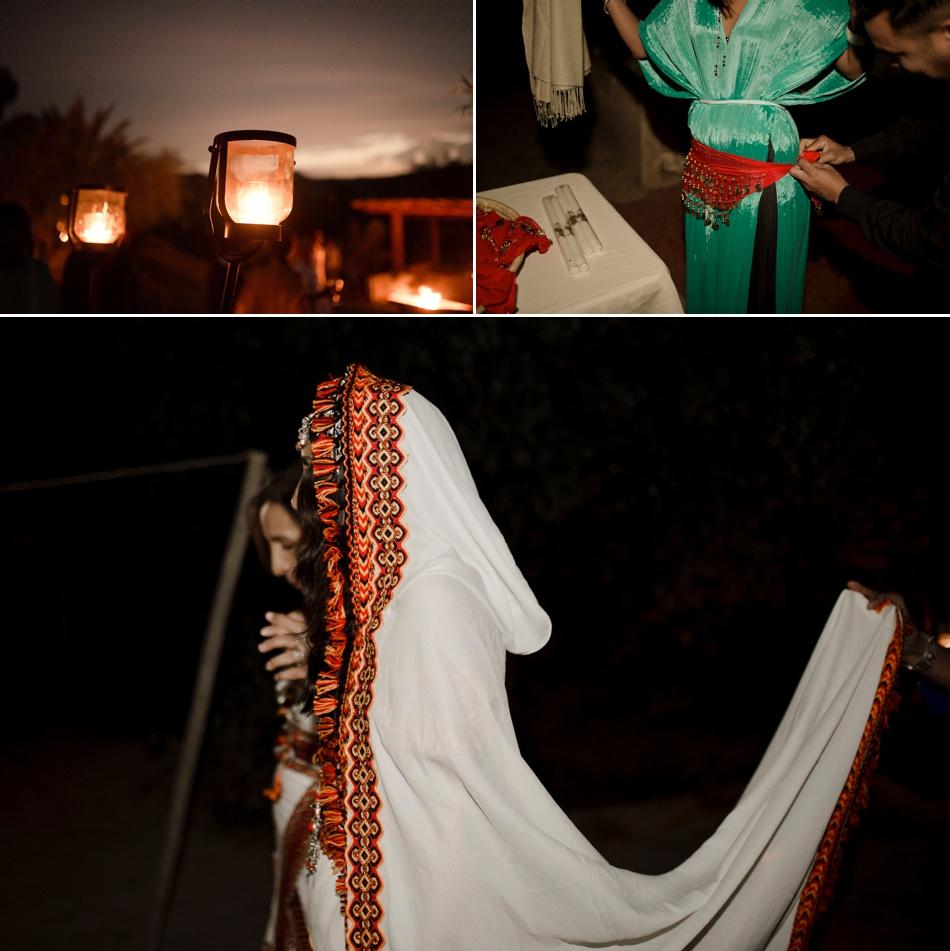 cérémonie du Héné dersert Agafay
