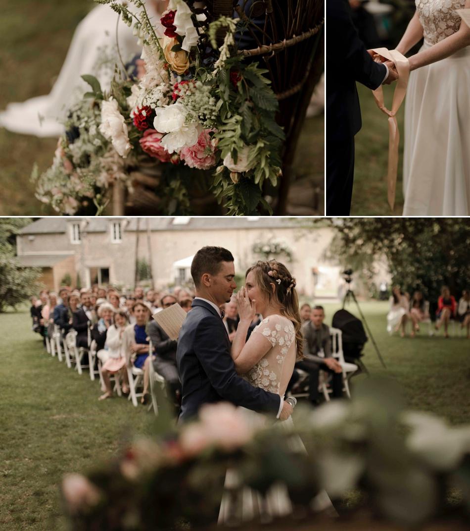 rituel du ruban cérémonie mariage