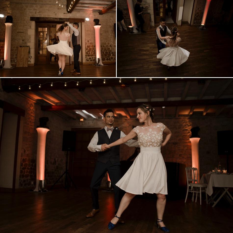 Première danse soirée de mariage