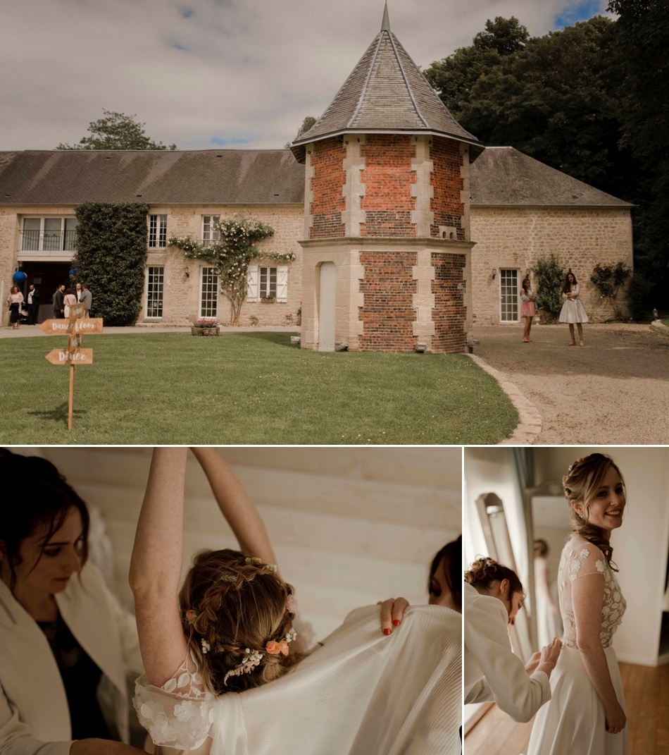 domaine de réception pour mariages en normandie