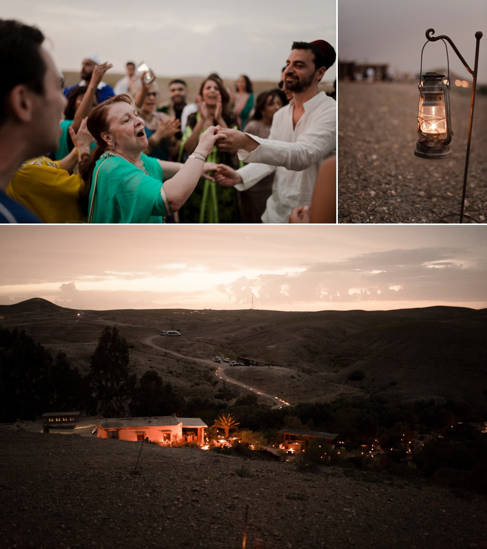 destination wedding in desert