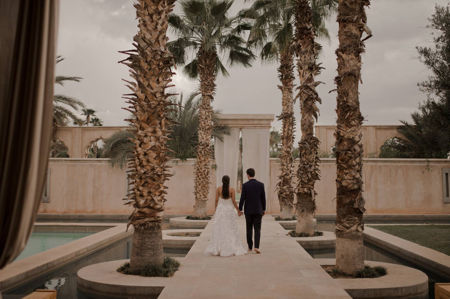 Wedding destination in palais Namaskar Marrakech