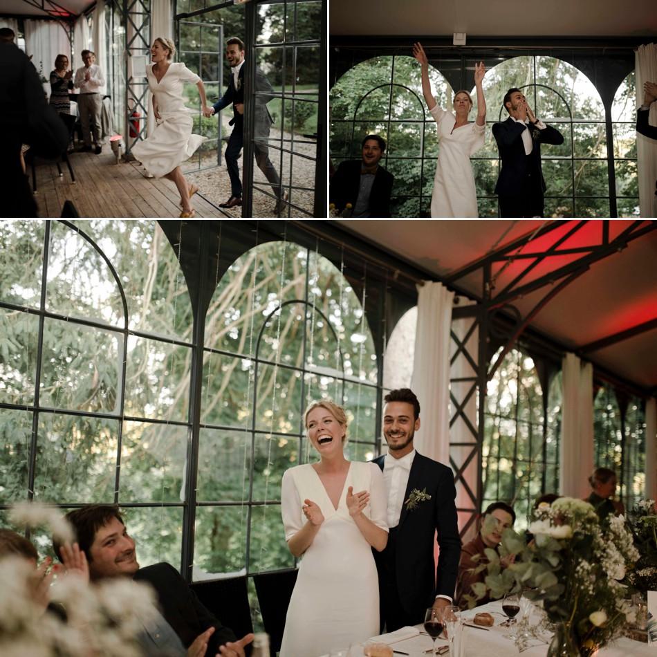 Soirée festive mariage