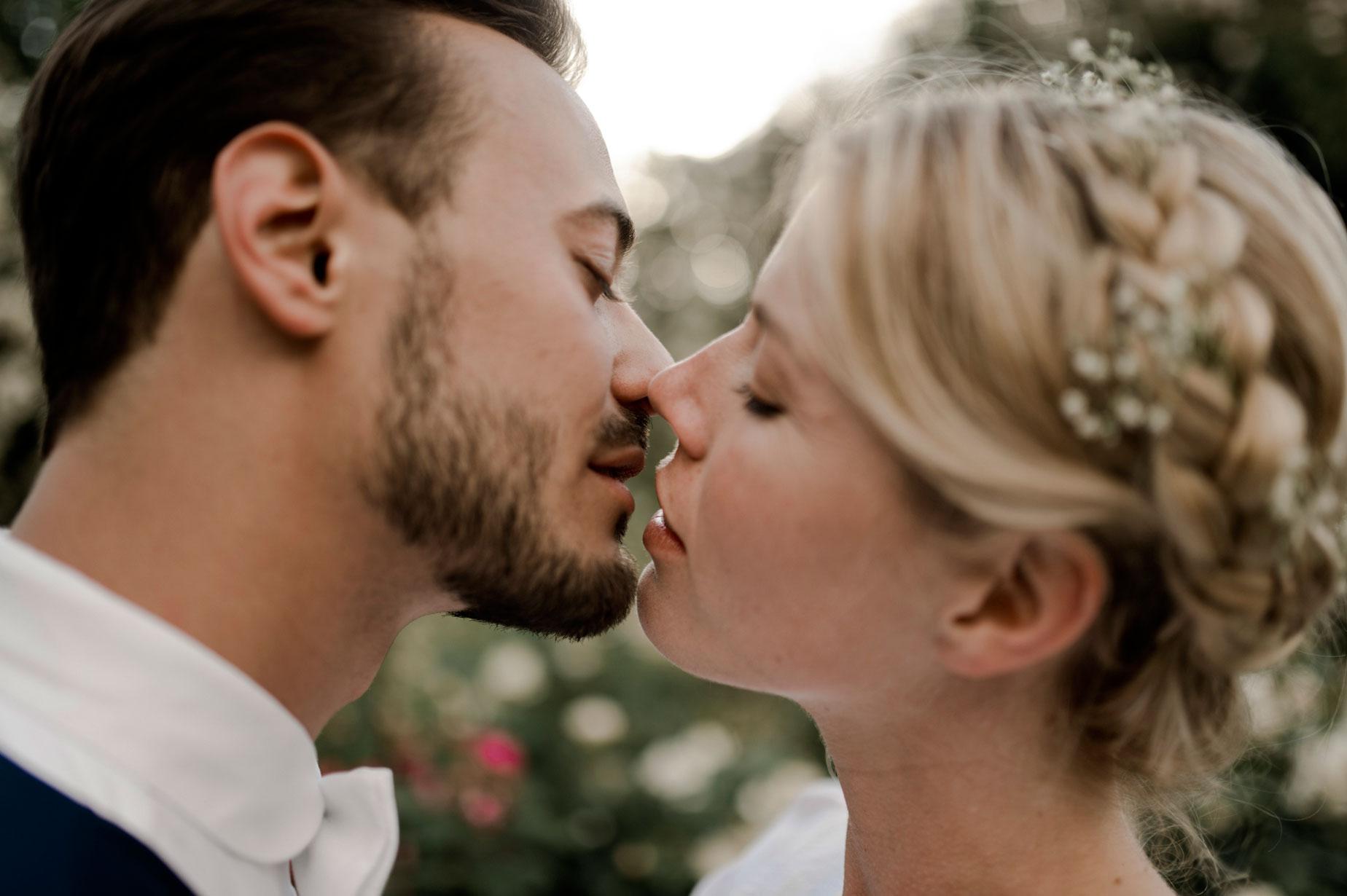 Photographe mariage close up dans l'Oise