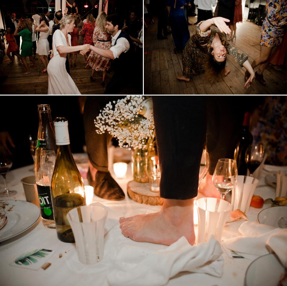 Photo soirée de mariage