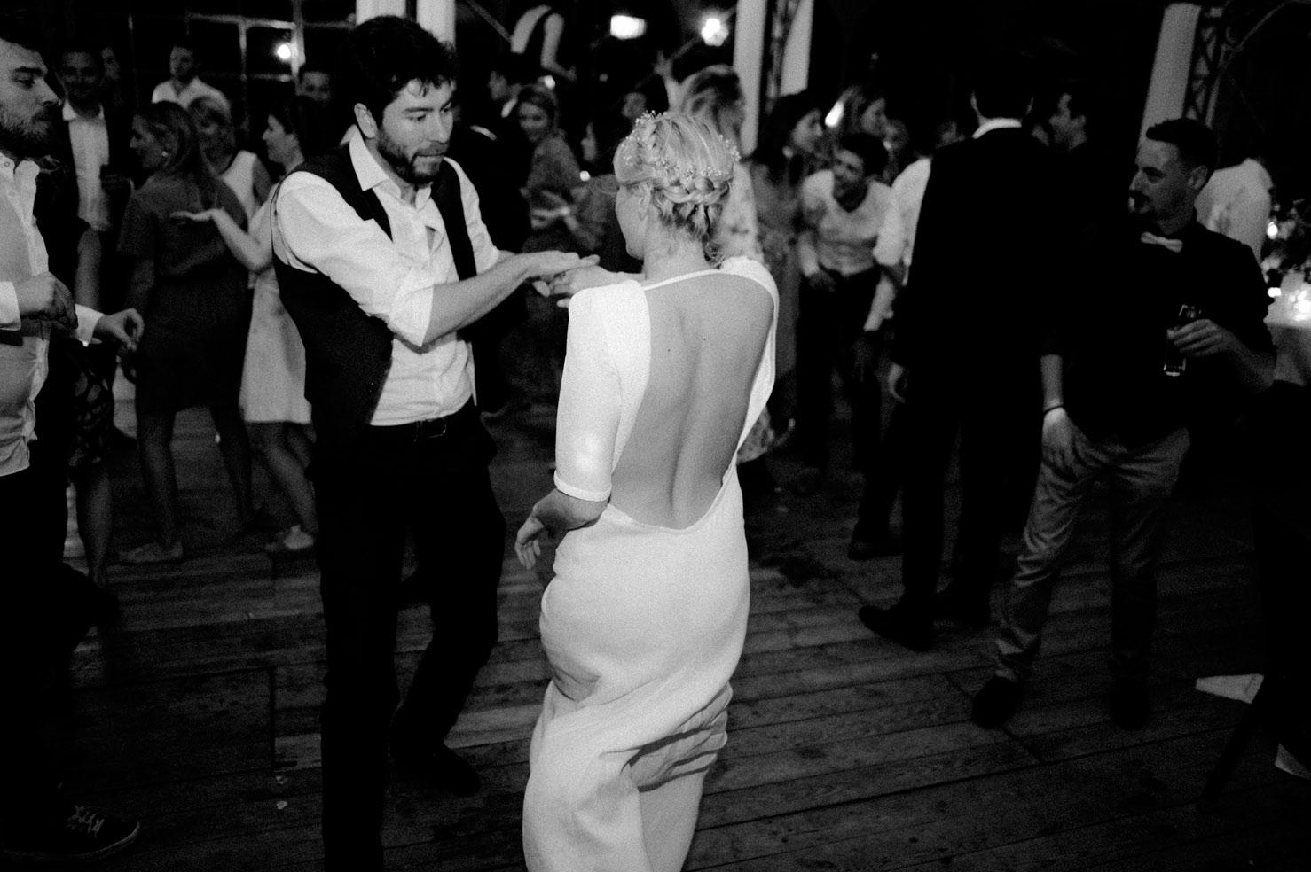 Photo danse soirée de mariage