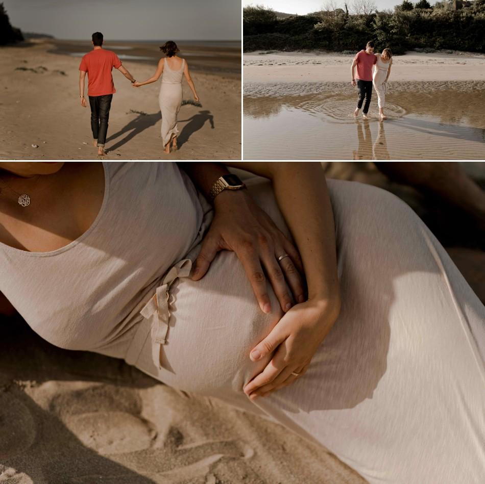 Photos grossesse à Honfleur