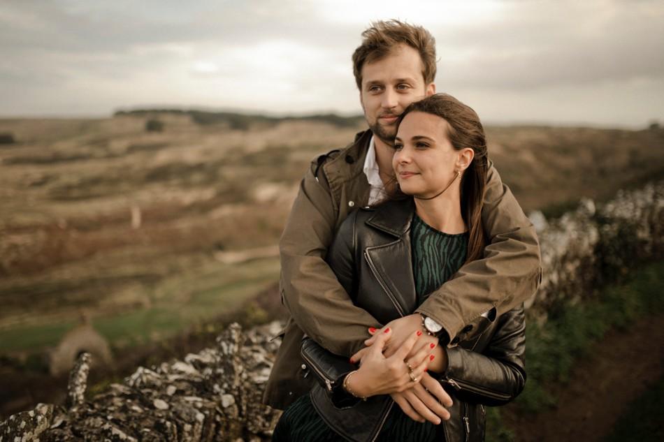 Photographe couple en extérieur