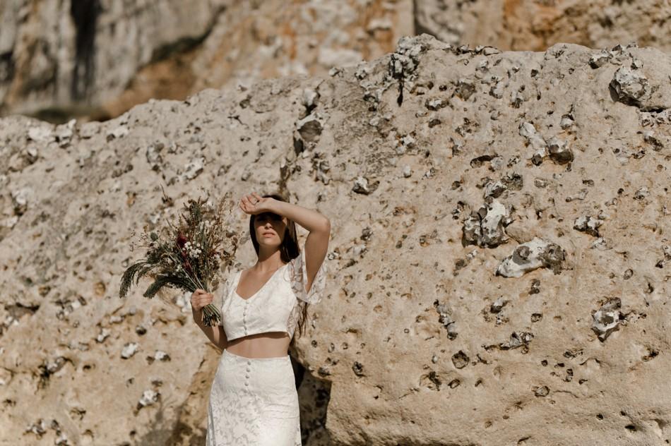 Editorial robe de mariée