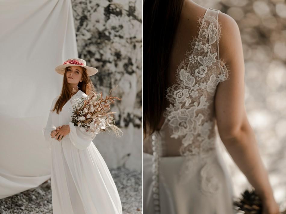 Editorial collection robe de mariée