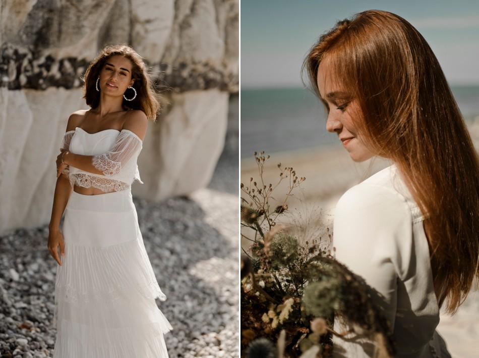 Shooting mode robe de mariée