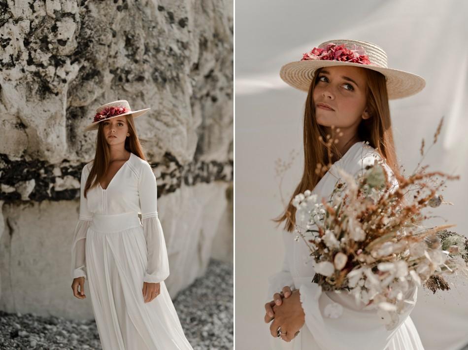 Séance photo mode robe de mariée