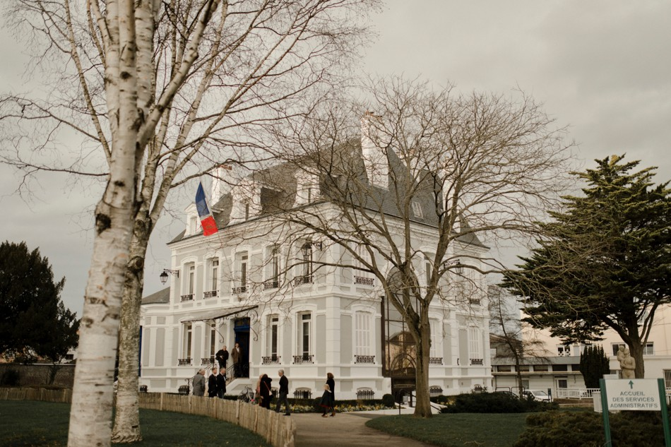 Mariage civil au Havre
