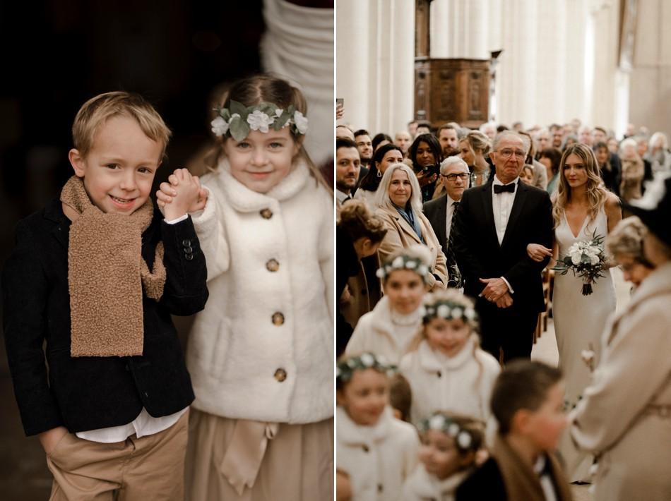 Mariage religieux à l'église