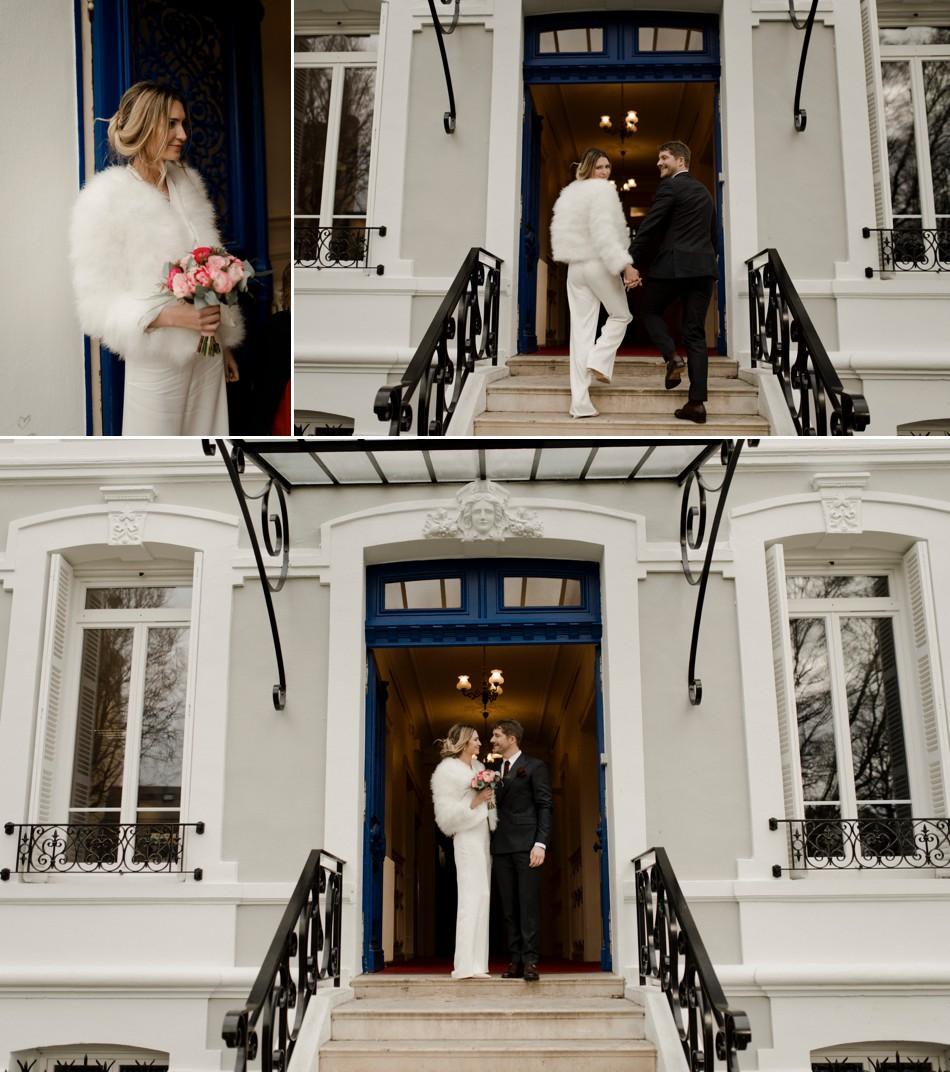 Tenue de mariée civile