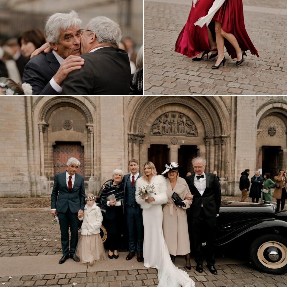 Photos de famille mariage religieux