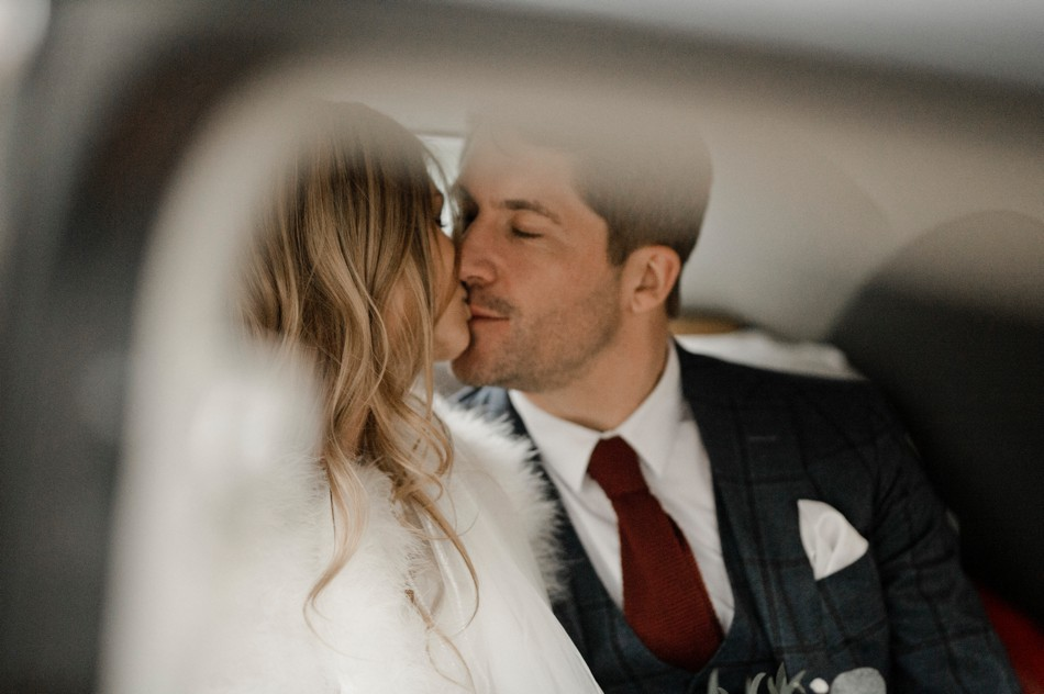 Photos des mariés à la sortie de l'église