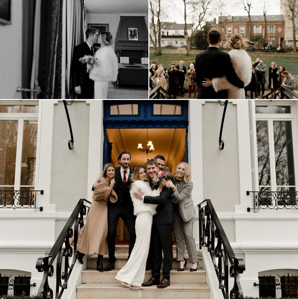 Photos de famille mariage civil