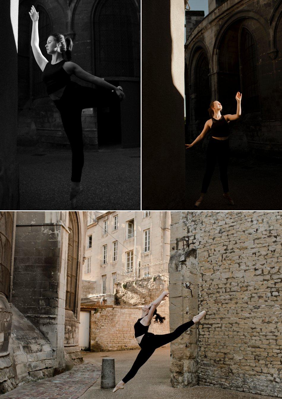 Séance photo danseuse contemporaine