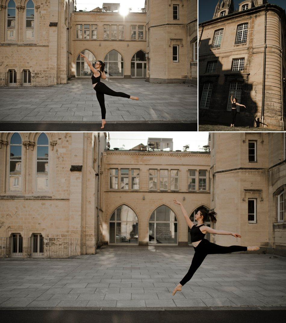 Séance photo danseuse classique