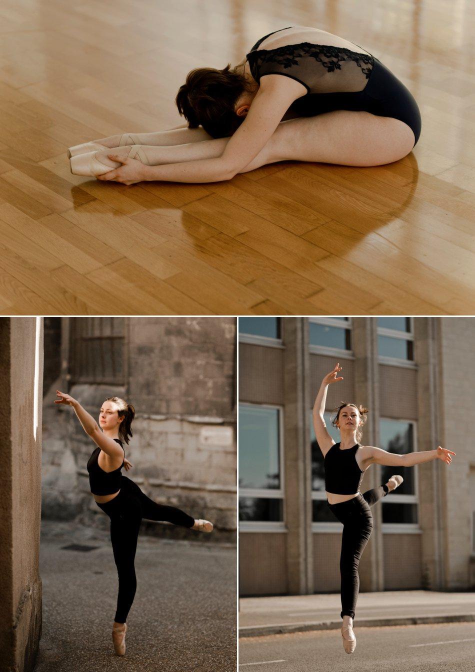 Portrait ballerine
