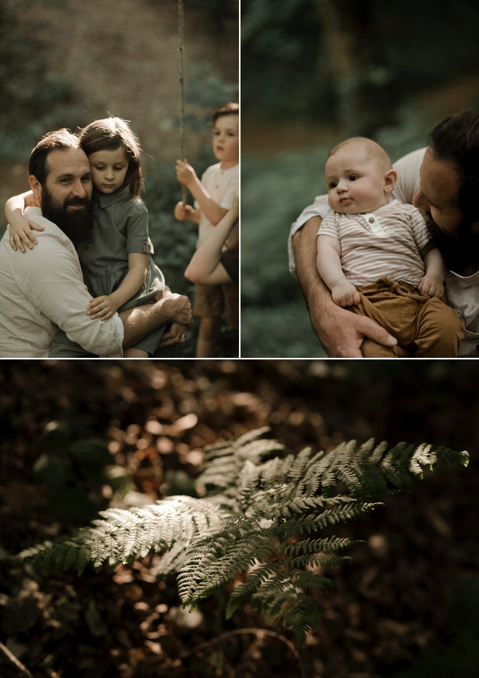 séance famille normandie forêt