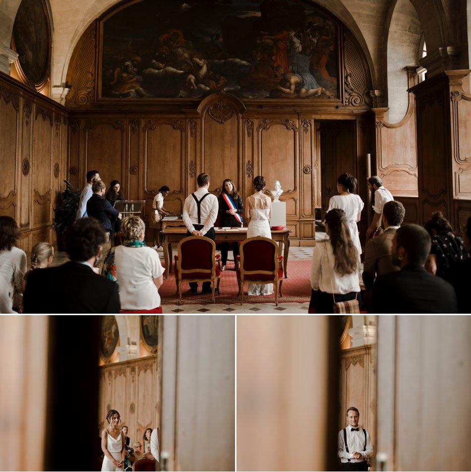 mariage à l'église de caen