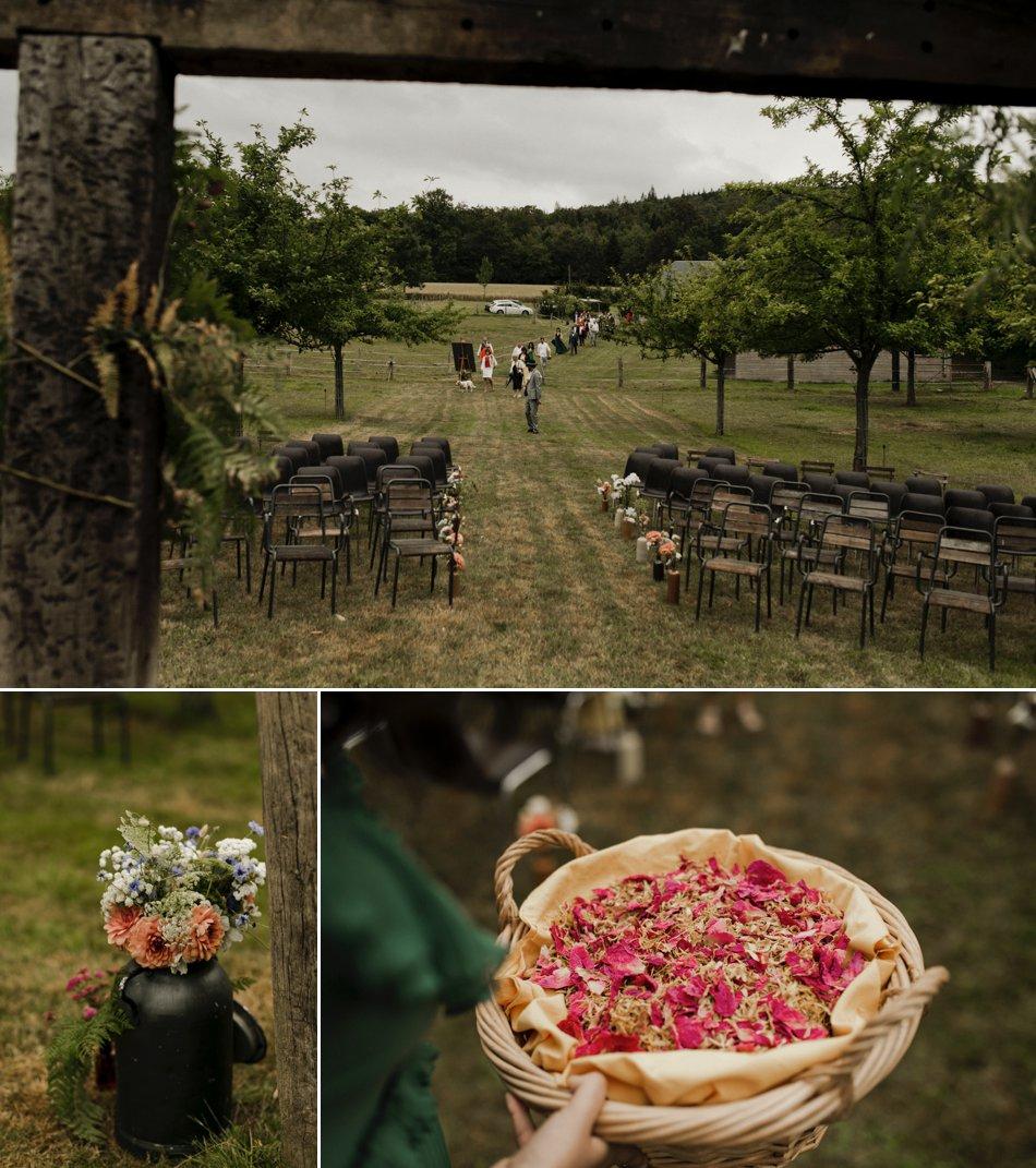 Cérémonie laïque mariage normandie