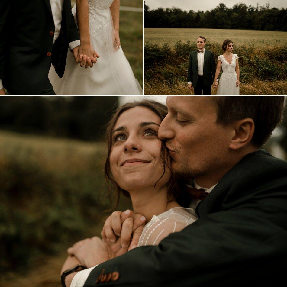 photos de couple dans les prés