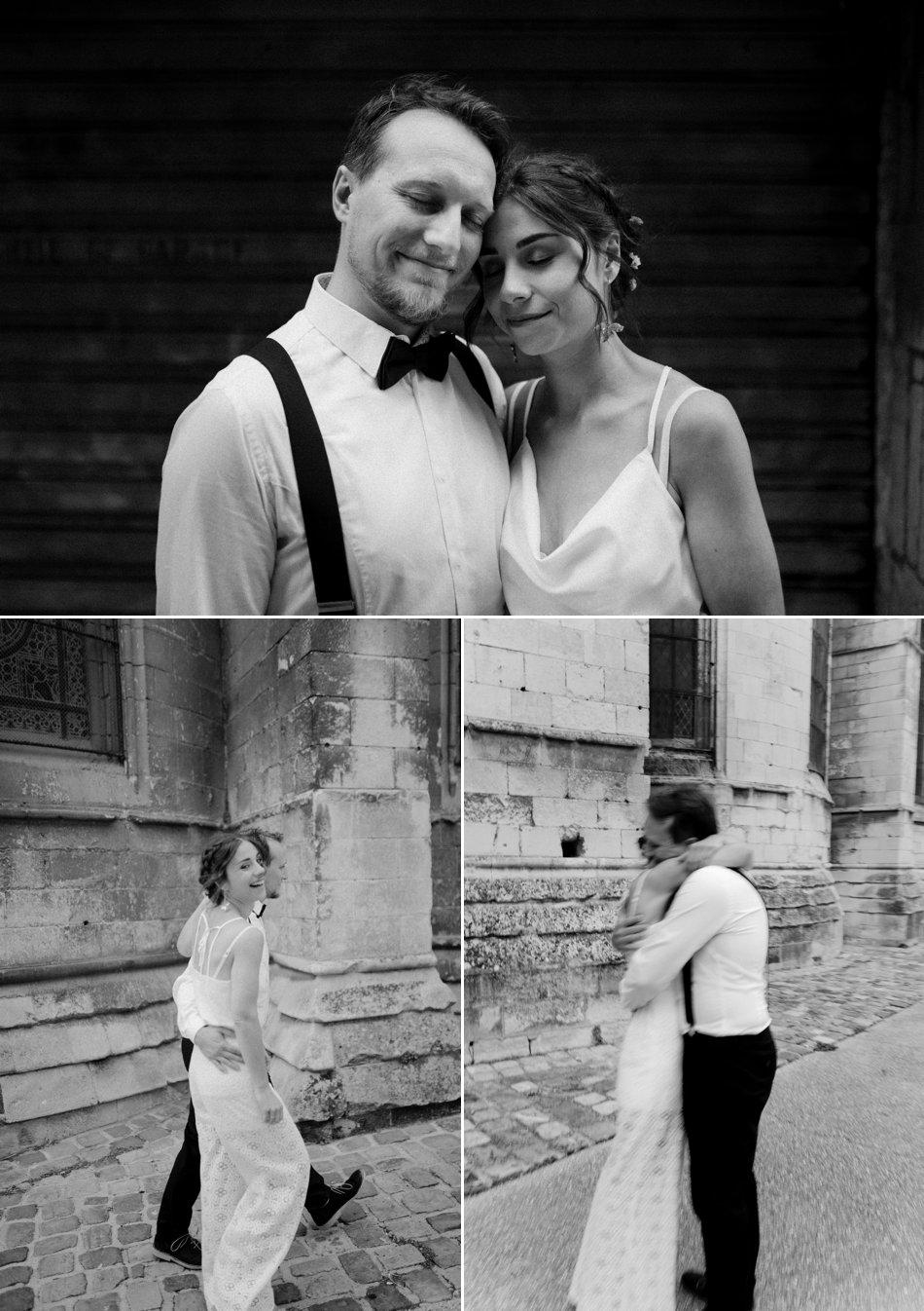 photos de couple noir et blanc