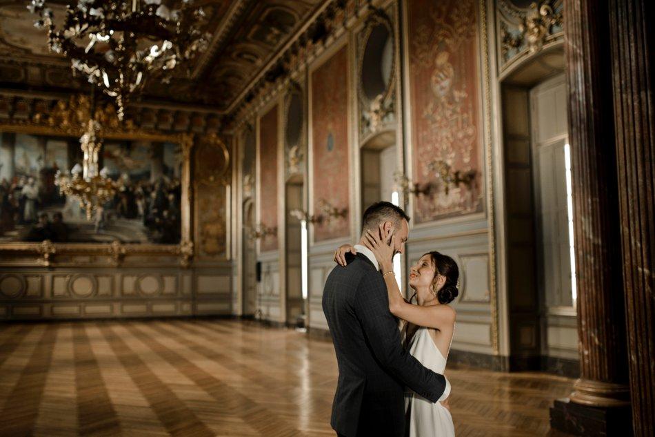 photos de couple dans une mairie