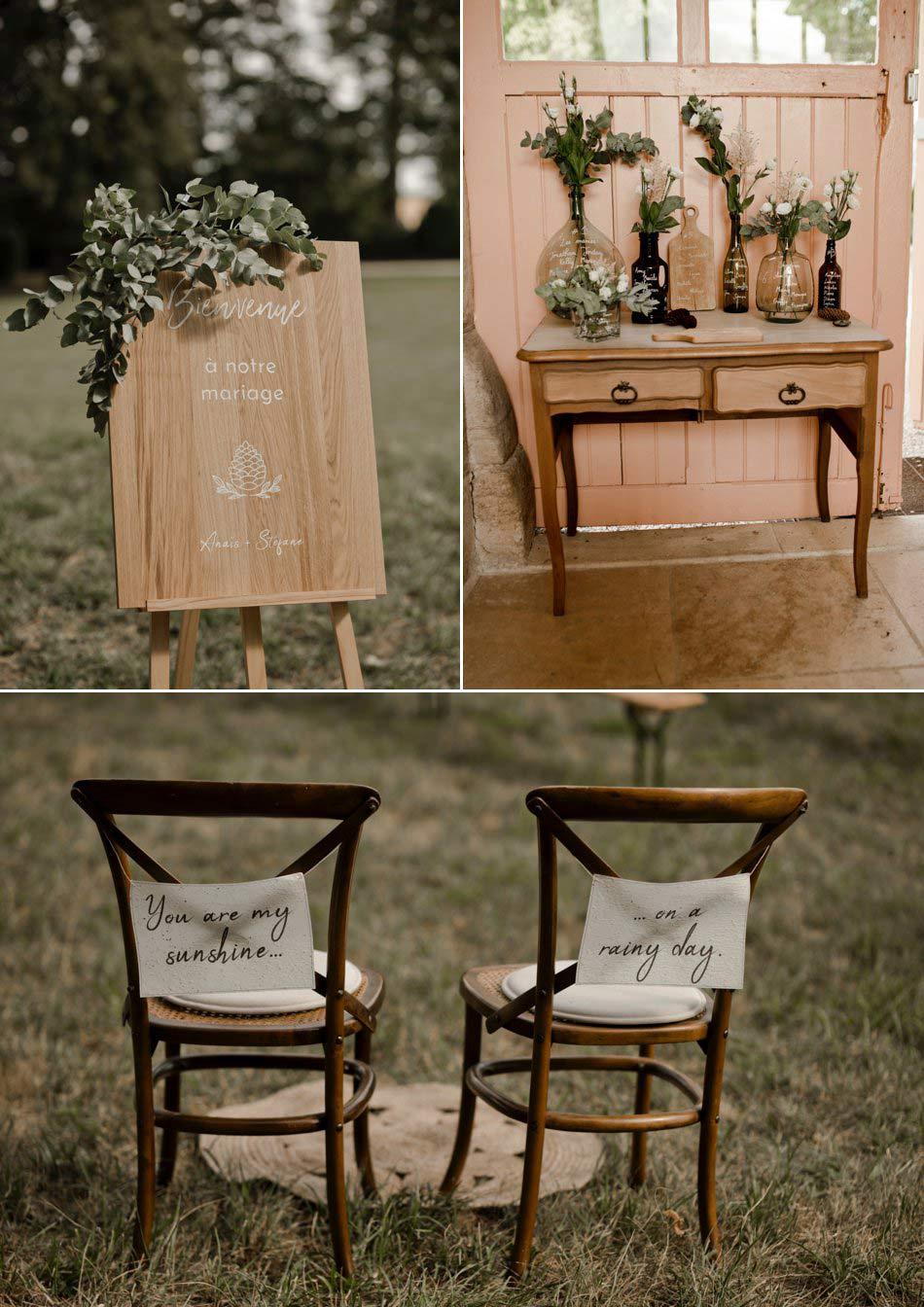 decoration vegetale mariage bourgogne
