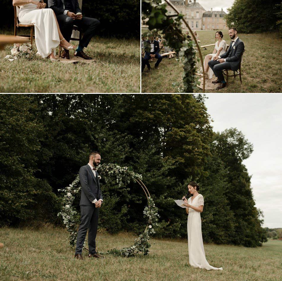 mariage theme vegetal